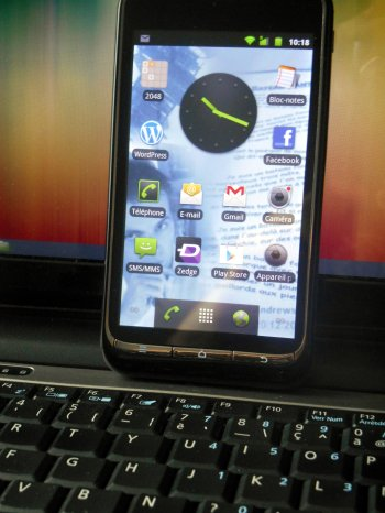 Jour 19 Téléphone Portable